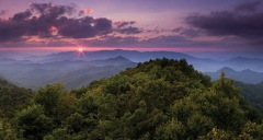 Sunset on Mt. Cheaha