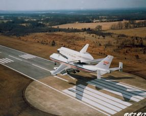 Shuttle at Redstone