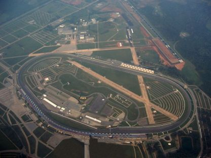Talladega Superspeedway from above